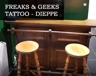 Freaks & Geeks Tattoo - Dieppe