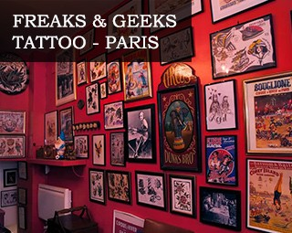 Freaks & Geeks Tattoo